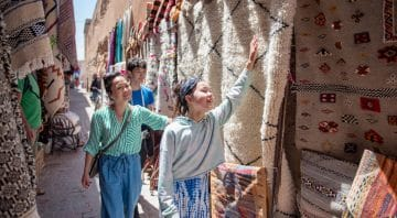 Traditional Berber Rug Experience